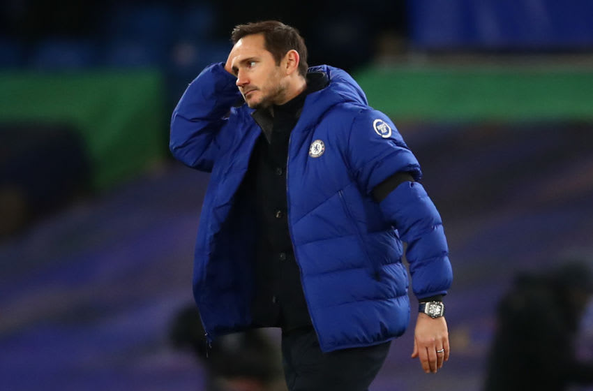 Frank Lampard, Manager of Chelsea (Photo by Marc Atkins/Getty Images)