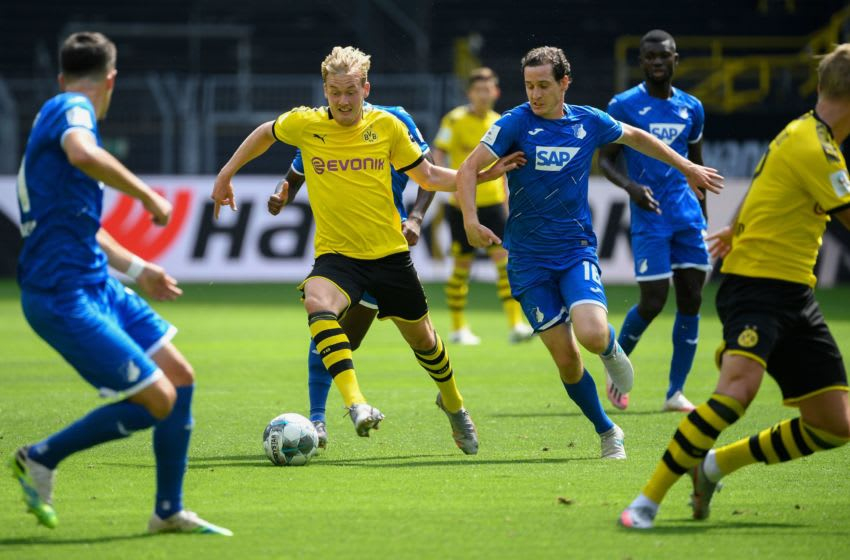 Borussia Dortmund vs TSG Hoffenheim, Bundesliga 2019/20 (Photo by INA FASSBENDER/AFP via Getty Images)