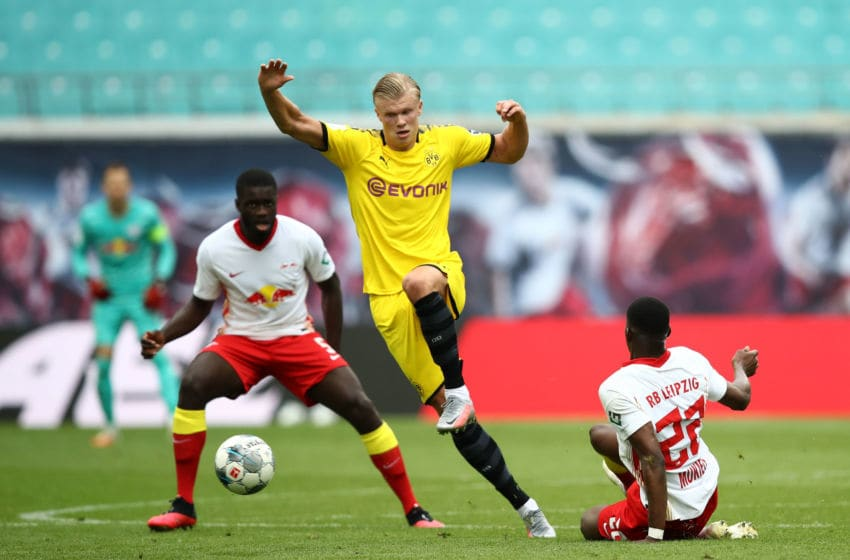 RB Leipzig vs Borussia Dortmuns, Bundesliga 2019/20 (Photo by Maja Hitij/Getty Images)