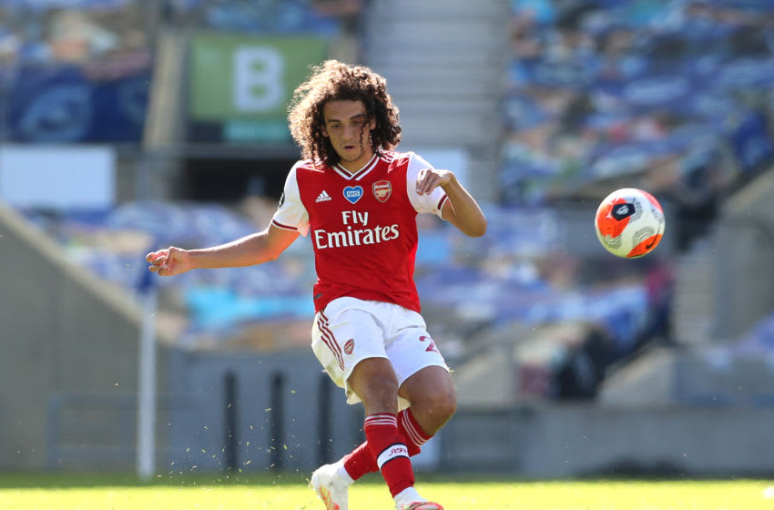 Matteo Guendouzi (Photo by Gareth Fuller/Pool via Getty Images)