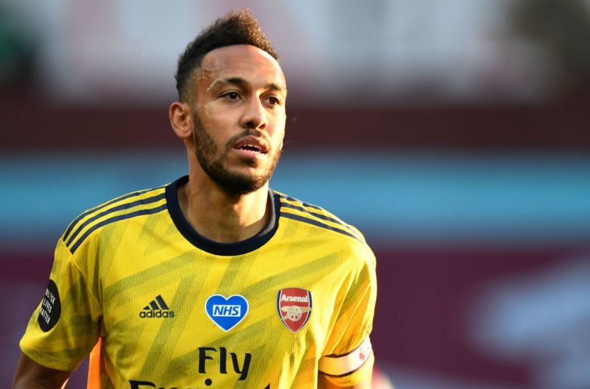 Pierre-Emerick Aubameyang, Arsenal (Photo by PETER POWELL/POOL/AFP via Getty Images)