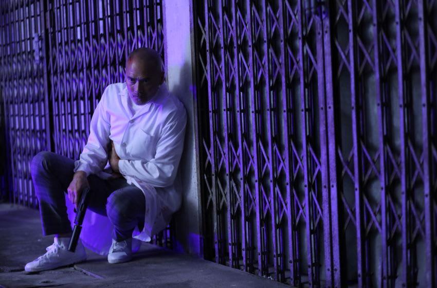 "Mark Dacascos (""Kai Kahale"") in One Night in Bangkok. Photo Credit: Lionsgate"