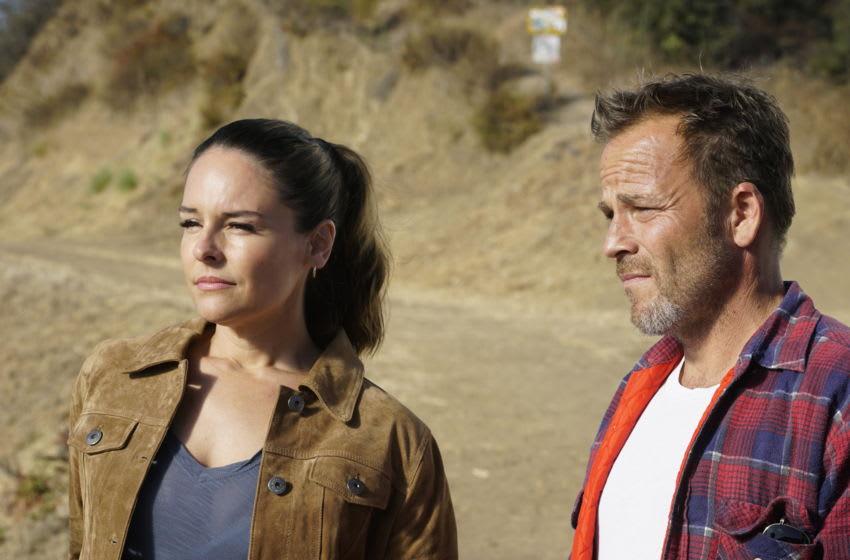 DEPUTY: L-R: Yara Martinez and Stephen Dorff in the