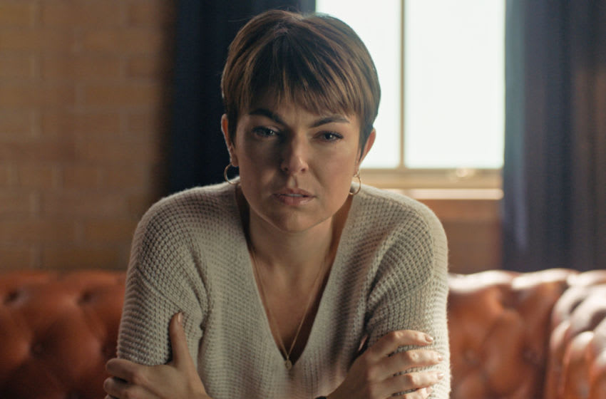 """Coroner -- """"Monster in the House"""" -- Image Number: COR207_1006r.jpg -- Pictured: Serinda Swan as Dr. Jenny Cooper -- Photo: © 2020 Muse Entertainment Enterprises, Inc."""