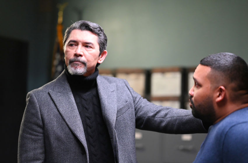 PRODIGAL SON: L-R: Lou Diamond Phillips and Frank Harts in the