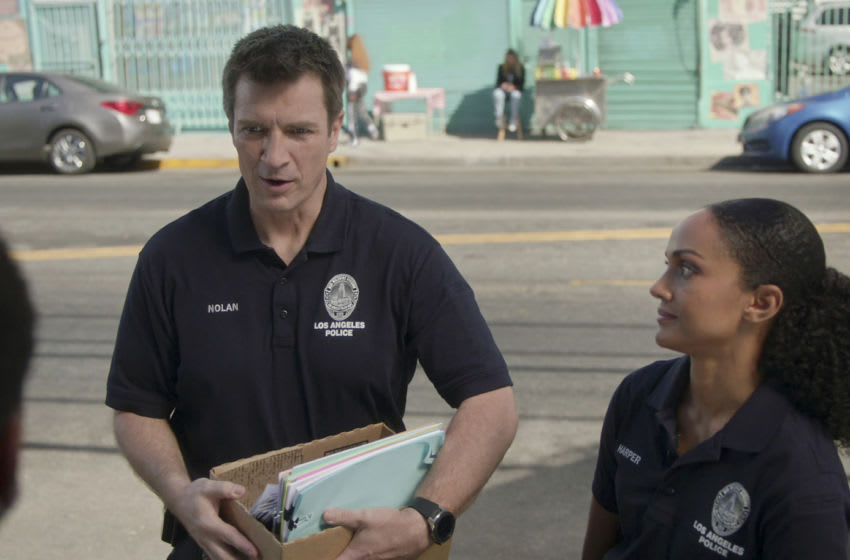 THE ROOKIE - ÒIn JusticeÓ Ð Officer John Nolan and Officer Nyla Harper are assigned to a community policing center to help rebuild their stationÕs reputation in the community. Nolan is determined to make a positive impact but Nyla has her doubts on ÒThe Rookie,Ó SUNDAY, JAN. 10 (10:00-11:00 p.m. EST), on ABC. (ABC) NATHAN FILLION