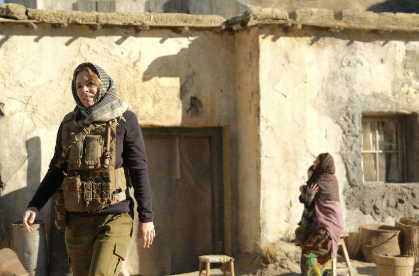 """""""True Believer"""" – When Sloane's name is discovered in Afghanistan at the site of an abandoned bus with a dead driver, Gibbs accompanies her on a trip to find a group of girls who were kidnapped from the bus. Also, McGee, Bishop and Torres track down a hacker who emailed compromising information to the Taliban, on NCIS, Tuesday, March 2 (8:00-9:00 PM, ET/PT) on the CBS Television Network. Pictured: Maria Bello as NCIS Special Agent Jaqueline """"Jack"""" Sloane. Photo: Patrick Wymore/CBS ©2020 CBS Broadcasting, Inc. All Rights Reserved."""