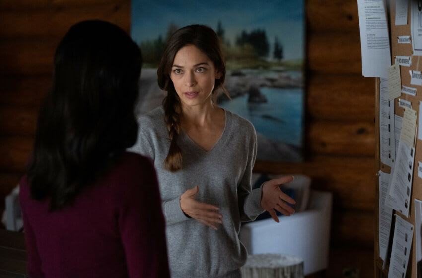 """Burden Of Truth -- """"Standing by Peaceful Water"""" -- Image Number: BOT408_0012 -- Pictured (L - R): Kristin Kreuk as Joanna Chang -- Photo: Cause One Productions Inc. and Cause One Manitoba Inc. -- © 2020 Cause One Productions Inc. and Cause One Manitoba Inc."""