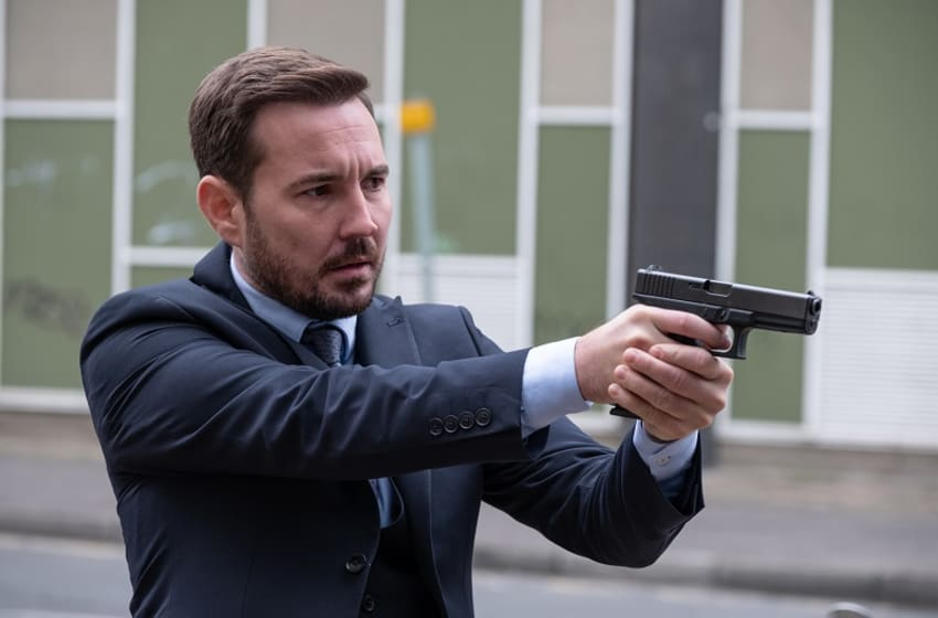 Martin Compston in Line of Duty series 5. (Photo Credit: Courtesy of Acorn TV.)