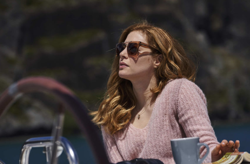 Rachelle Lefevre as Maggie in The Sounds. (Photo Credit: Courtesy of Acorn TV.)