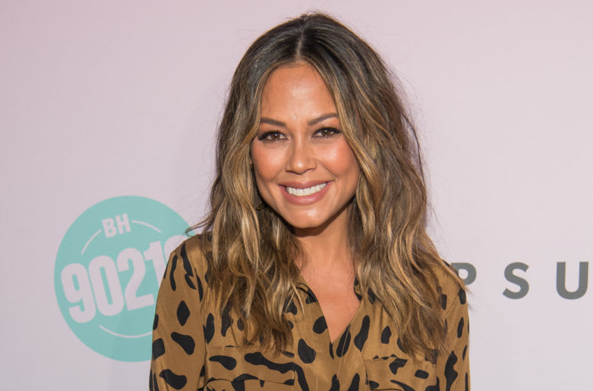 LOS ANGELES, CALIFORNIA - AUGUST 03: Vanessa Lachey attends the Beverly Hills 90210 Peach Pit Pop-Up on August 03, 2019 in Los Angeles, California. (Photo by Emma McIntyre/Getty Images)