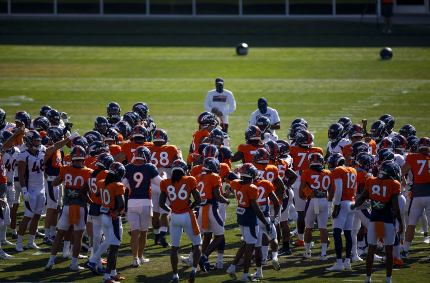 Denver Broncos training camp (Photo by Justin Edmonds/Getty Images)