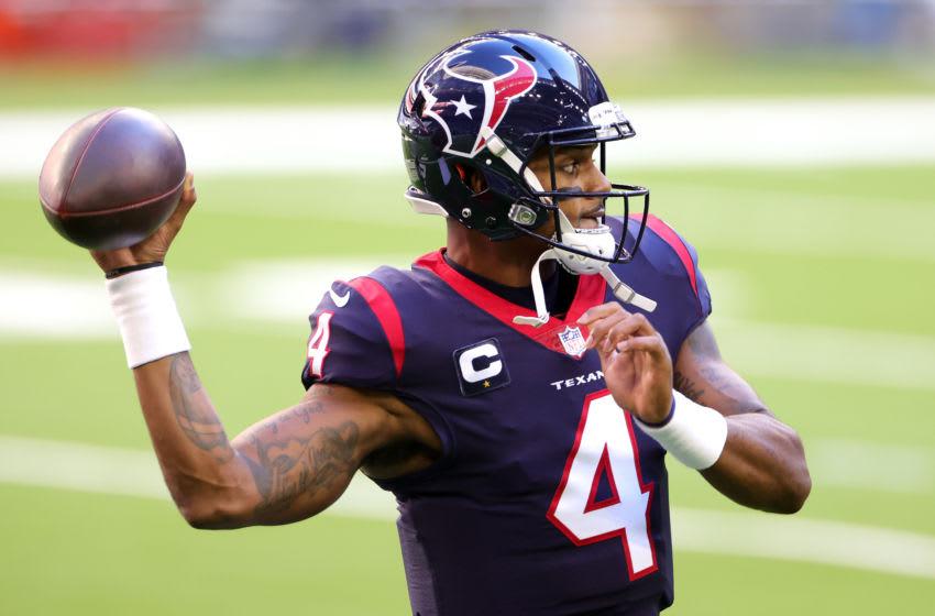 Deshaun Watson, Denver Broncos possible trade target. (Photo by Carmen Mandato/Getty Images)