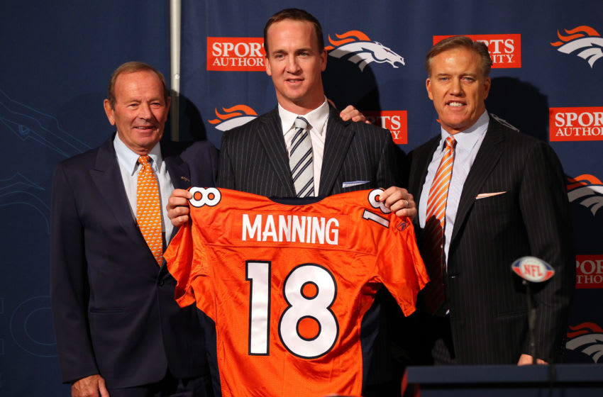 Peyton Manning, Denver Broncos. (Photo by Justin Edmonds/Getty Images)