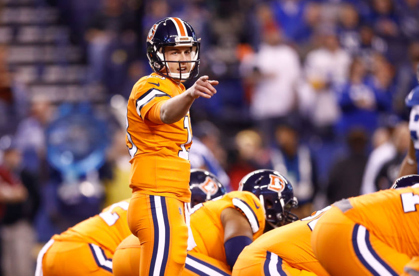 INDIANAPOLIS, IN - DECEMBER 14: Trevor Siemian