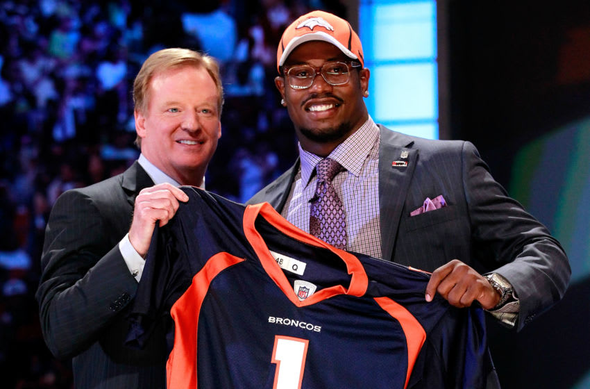 Von Miller, Denver Broncos. (Photo by Chris Trotman/Getty Images)