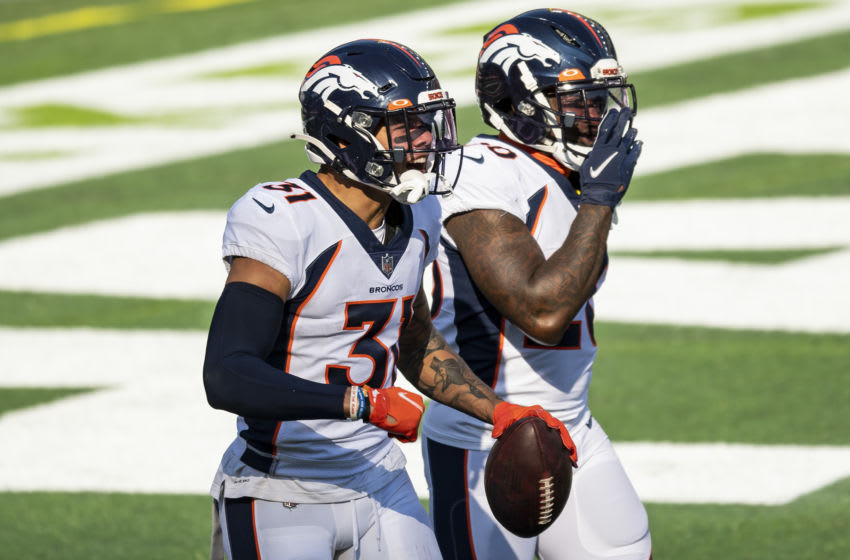 Denver Broncos 2021 offseason, Justin Simmons. (Photo by Billie Weiss/Getty Images)