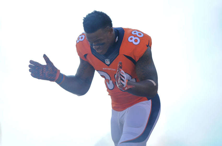 Denver Broncos WR Demaryius Thomas (Photo by Dustin Bradford/Getty Images)