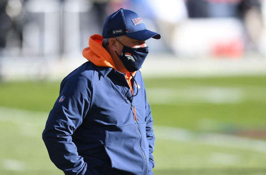 Denver Broncos head coach Vic Fangio. Mandatory Credit: Ron Chenoy-USA TODAY Sports