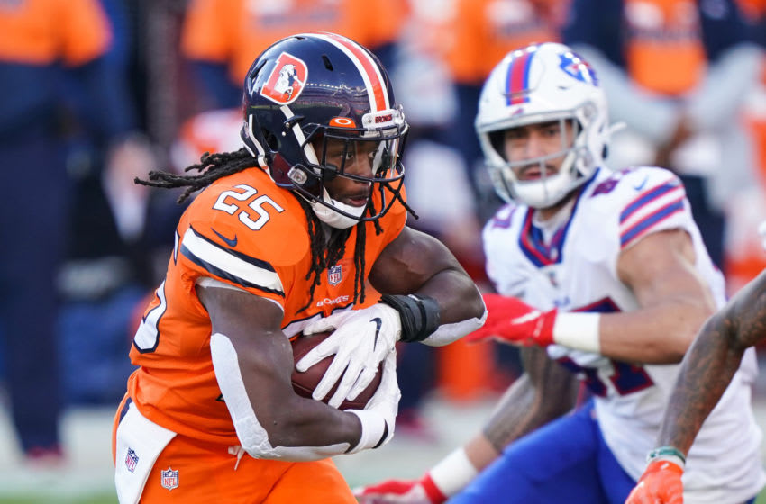 Melvin Gordon, Denver Broncos running back. Mandatory Credit: Troy Babbitt-USA TODAY Sports