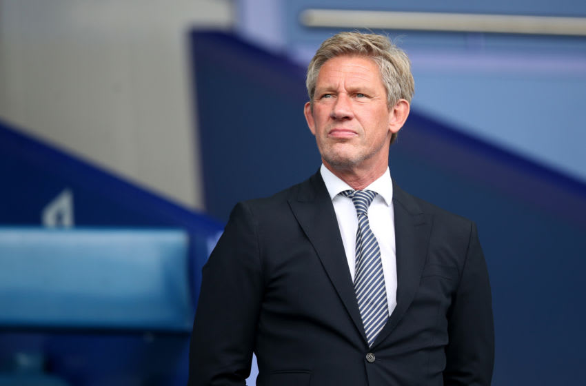 LIVERPOOL, ENGLAND - SEPTEMBER 01: Everton Director of Football, Marcel Brands looks on prior to the Premier League match between Everton FC and Huddersfield Town at Goodison Park on September 1, 2018 in Liverpool, United Kingdom. (Photo by Ian MacNicol/Getty Images)