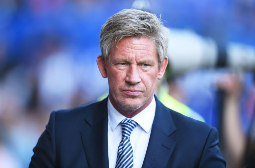 LIVERPOOL, ENGLAND - SEPTEMBER 21: Director of Football of Everton FC, Marcel Brands looks on during the Premier League match between Everton FC and Sheffield United at Goodison Park on September 21, 2019 in Liverpool, United Kingdom. (Photo by Nathan Stirk/Getty Images)