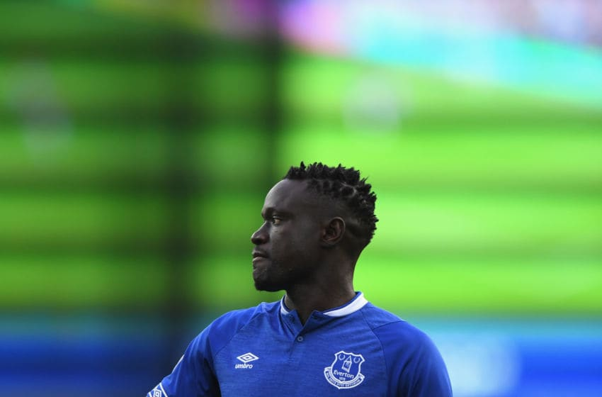 LIVERPOOL, ENGLAND - SEPTEMBER 16: Everton player Oumar Niasse pictured during the Premier League match between Everton FC and West Ham United at Goodison Park on September 16, 2018 in Liverpool, United Kingdom. (Photo by Stu Forster/Getty Images)