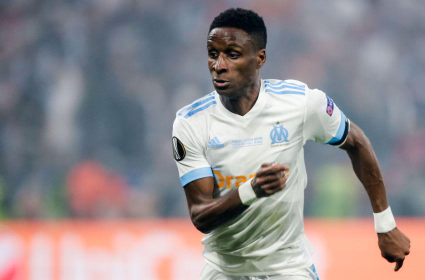 LYON, FRANCE - MAY 16: Bouna Sarr of Olympique Marseille during the UEFA Europa League match between Olympique Marseille v Atletico Madrid at the Parc Olympique Lyonnais on May 16, 2018 in Lyon France (Photo by Erwin Spek/Soccrates/Getty Images)