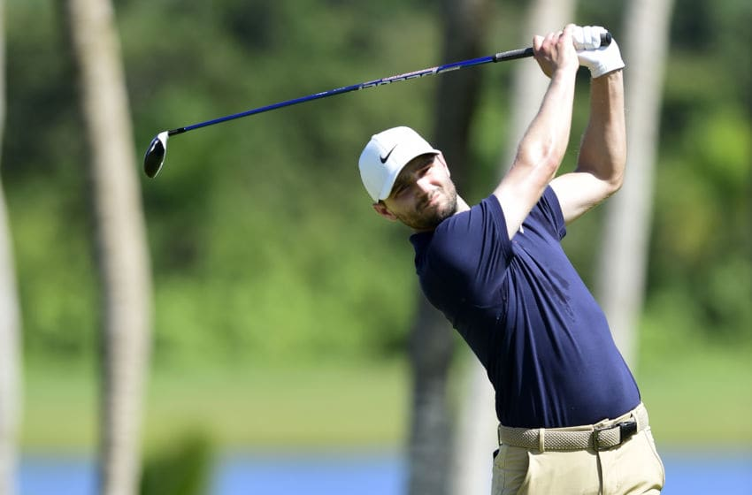RIO GRANDE, PUERTO RICO - FEBRUARY 22: Kyle Stanley plays his shot from the third tee during the third round of the Puerto Rico Open at Grand Reserve Country Club on February 22, 2020 in Rio Grande, Puerto Rico. (Photo by Jared C. Tilton/Getty Images)