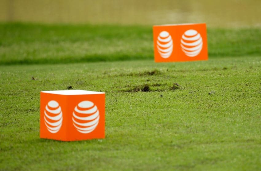 IRVING, TX - MAY 29: Divots are seen at the tee box on the 104 yard par three 14th hole during Round Two of the AT&T Byron Nelson at the TPC Four Seasons Resort Las Colinas on May 29, 2015 in Irving, Texas. (Photo by Scott Halleran/Getty Images)