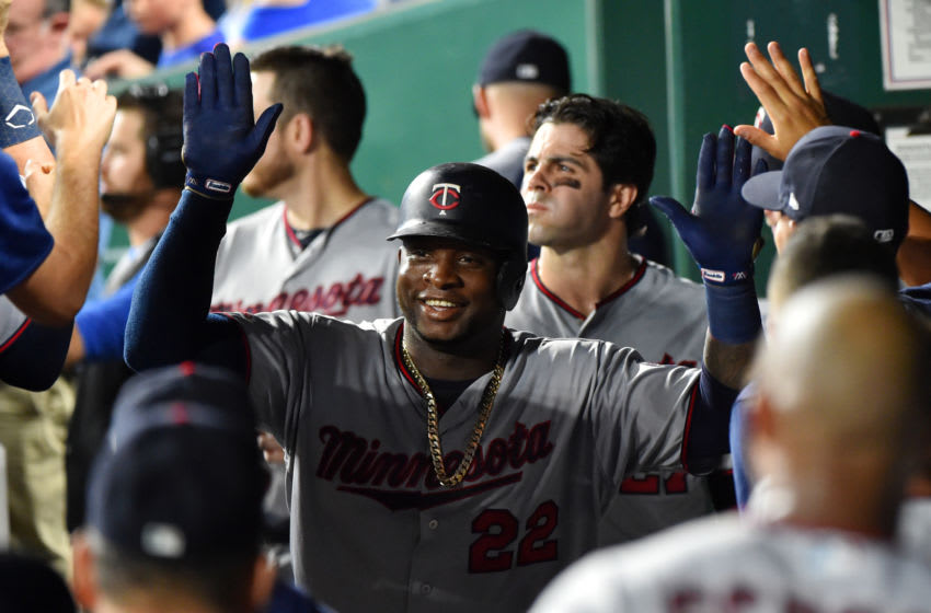 Miguel Sano of the Minnesota Twins (Photo by Ed Zurga/Getty Images)