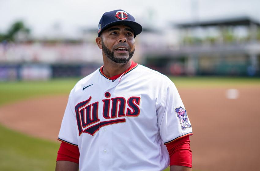 Nelson Cruz of the Minnesota Twins (Photo by Brace Hemmelgarn/Minnesota Twins/Getty Images)