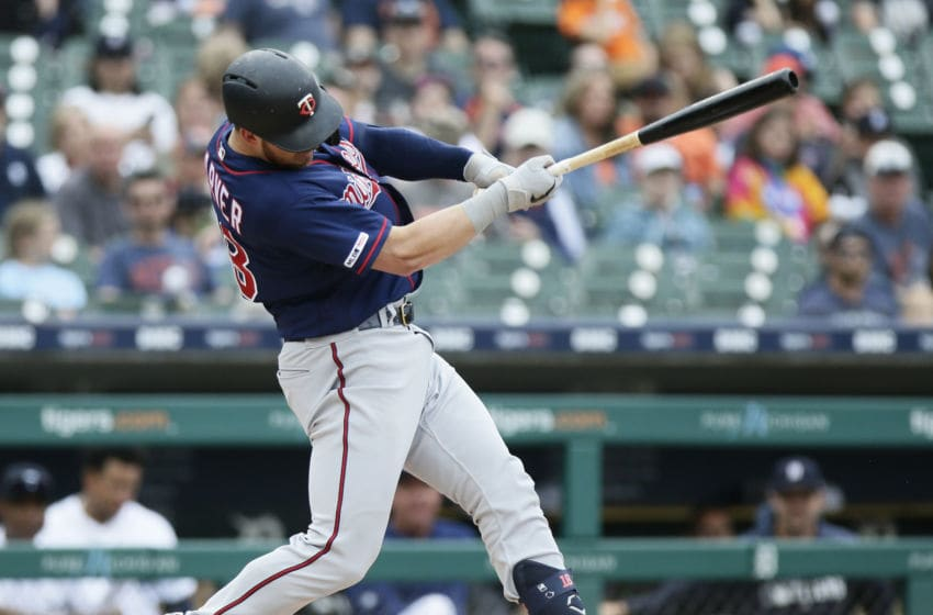 Mitch Garver of the Minnesota Twins (Photo by Duane Burleson/Getty Images)