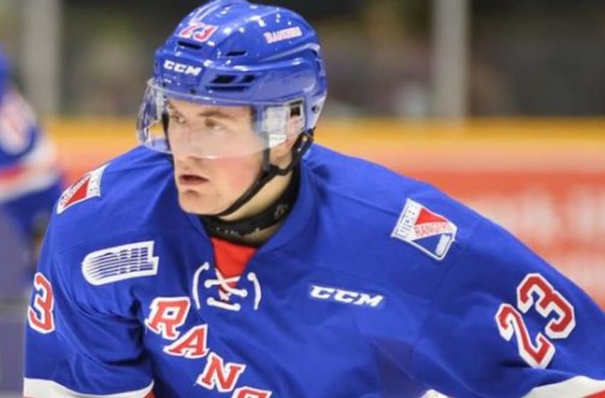 Adam Mascherin is a prospect to keep an eye on heading into this year's NHL Draft. Photo By: Terry Wilson/OHL Images http://www.gthlcanada.com/article/breakout-star-of-the-week-adam-mascherin
