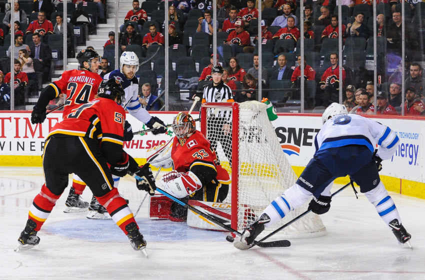 Calgary Flames and Winnipeg Jets (Photo by Derek Leung/Getty Images)