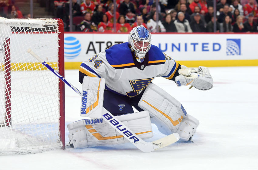Jake Allen, St. Louis Blues (Photo by Robin Alam/Icon Sportswire via Getty Images)