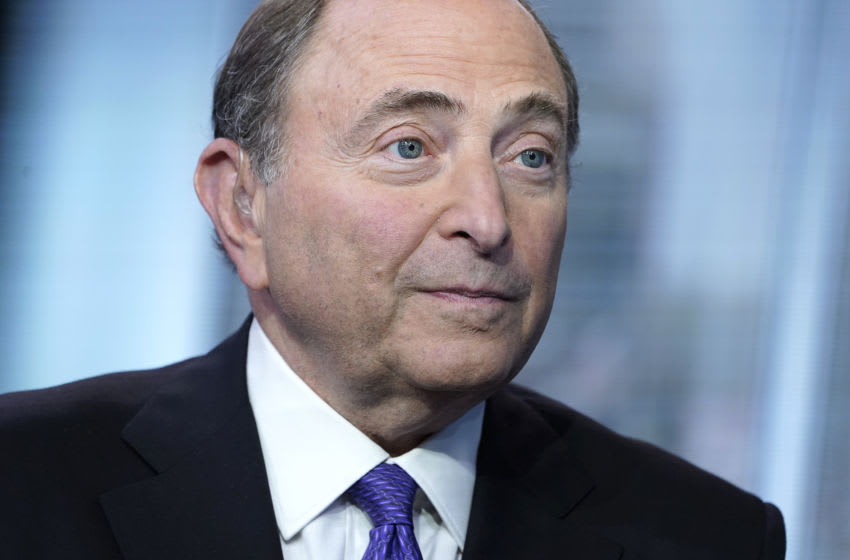 NHL Commissioner Gary Bettman (Photo by John Lamparski/Getty Images)
