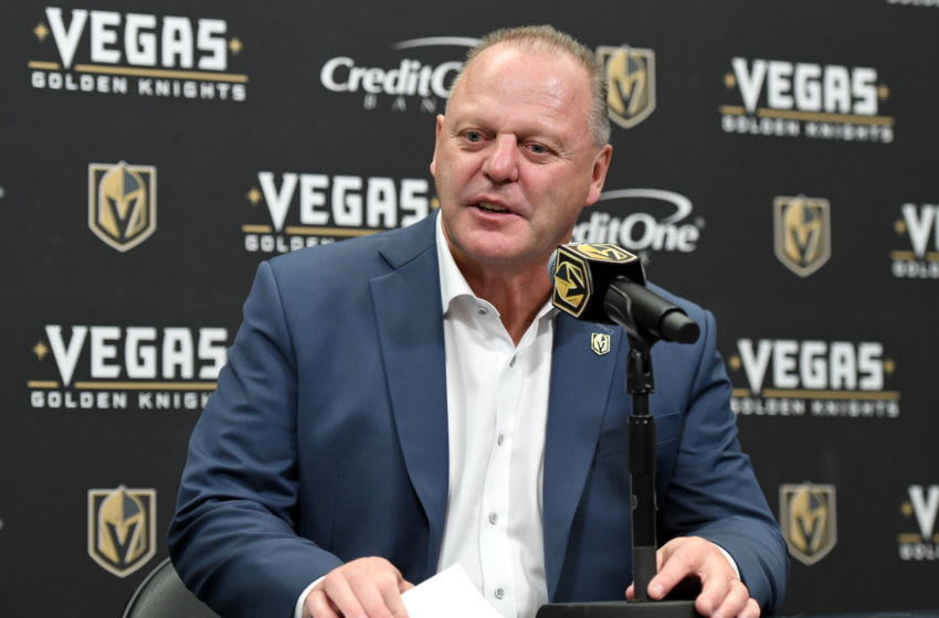 Gerard Gallant, Vegas Golden Knights (Photo by Ethan Miller/Getty Images)
