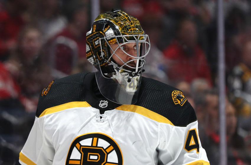 Jaroslav Halak, Boston Bruins (Photo by Patrick Smith/Getty Images)