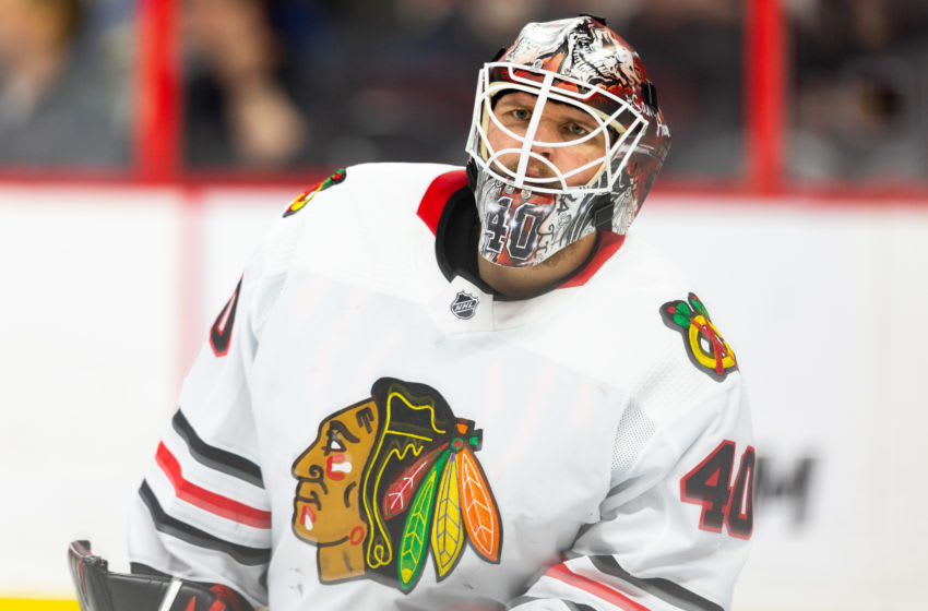Robin Lehner, NHL free agency, Chicago Blackhawks (Photo by Richard A. Whittaker/Icon Sportswire via Getty Images)