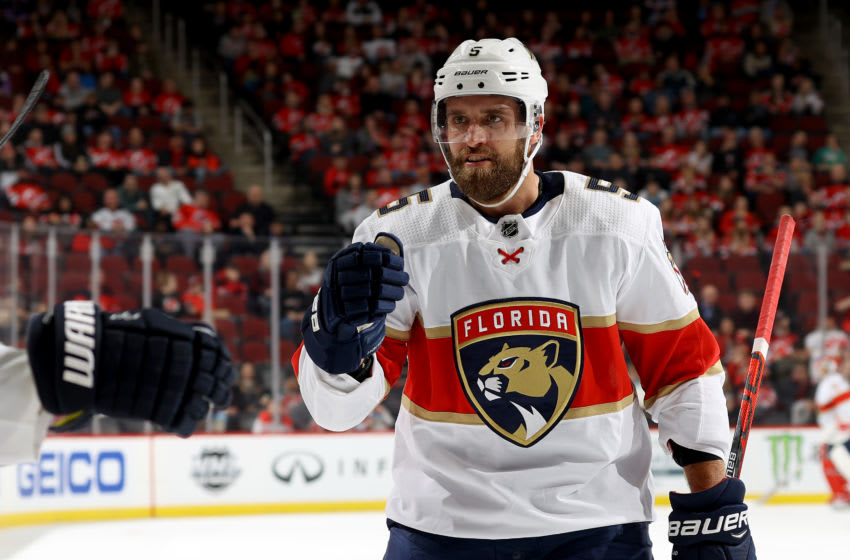 Aaron Ekblad, Florida Panthers (Photo by Elsa/Getty Images)