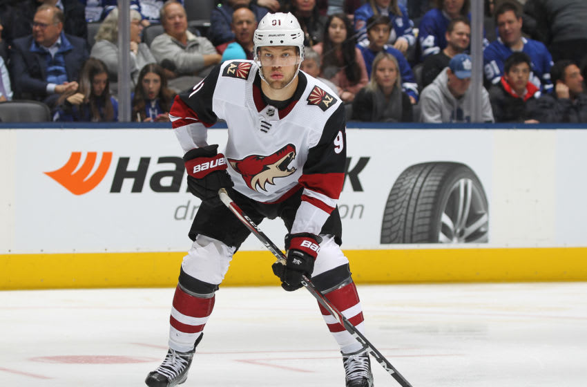 Taylor Hall, Arizona Coyotes (Photo by Claus Andersen/Getty Images)