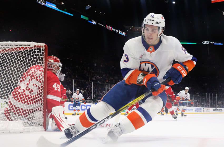 Mathew Barzal, New York Islanders (Photo by Bruce Bennett/Getty Images)
