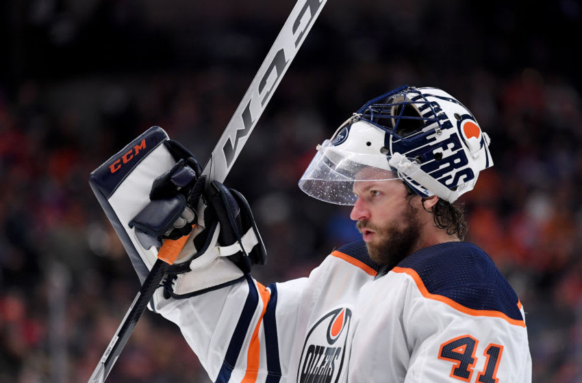 Mike Smith, Edmonton Oilers (Photo by Harry How/Getty Images)