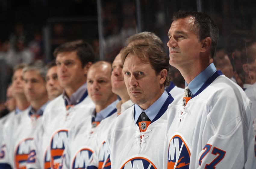 Pierre Turgeon, New York Islanders (Photo by Bruce Bennett/Getty Images)