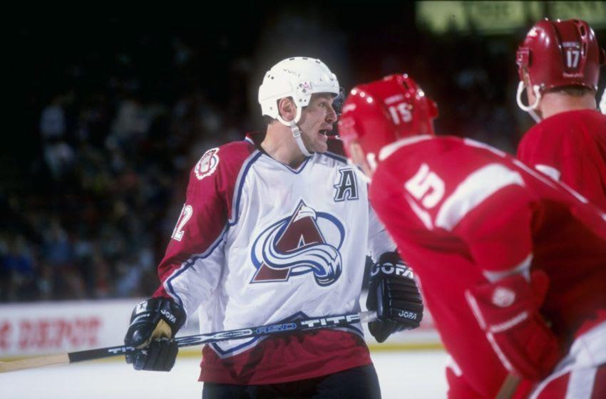Claude Lemieux, Colorado Avalanche (Mandatory Credit: Brian Bahr /Allsport)