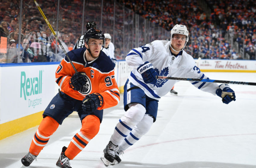 Connor McDavid #97 of the Edmonton Oilers (Photo by Andy Devlin/NHLI via Getty Images)