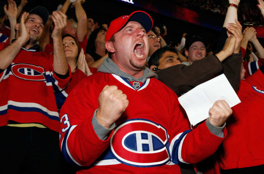 Montreal Canadiens fans (Photo by Richard Wolowicz/Getty Images)