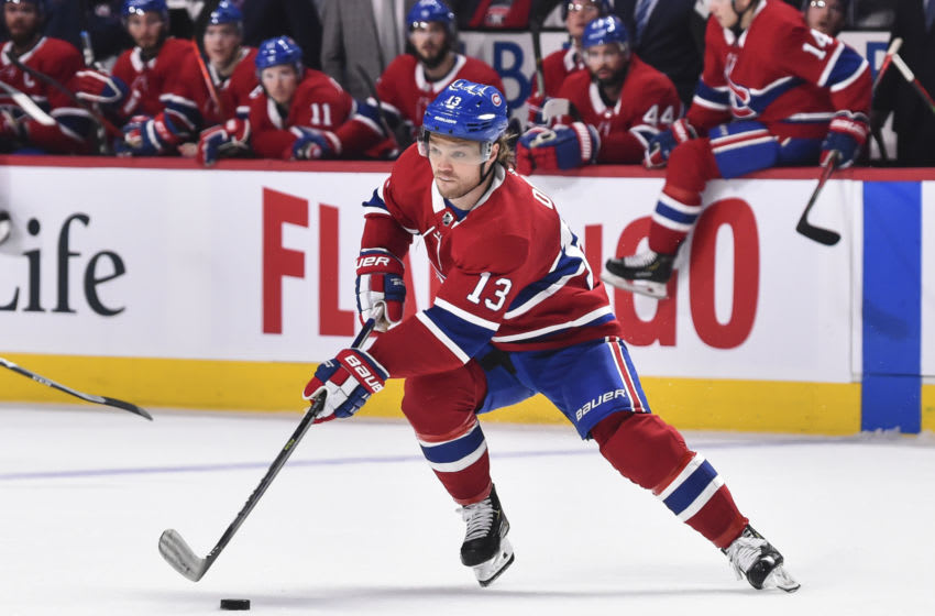 Max Domi #13 of the Montreal Canadiens (Photo by Minas Panagiotakis/Getty Images)