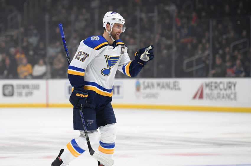 Alex Pietrangelo #27 of the St. Louis Blues (Photo by Harry How/Getty Images)